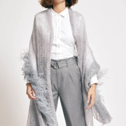 Feather Lace Shawl