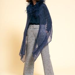 Lace Feather Cape
